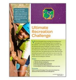 GIRL SCOUTS OF THE USA Ambassador Ultimate Recreation Req.