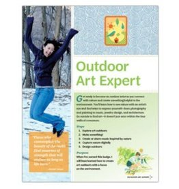 GIRL SCOUTS OF THE USA Senior Outdoor Art Expert Requirements