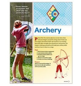 GIRL SCOUTS OF THE USA Cadette Archery Requirements