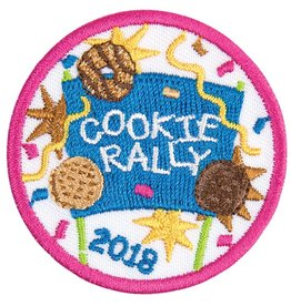 LITTLE BROWNIE BAKER 2018 Cookie Rally Patch 12DOC