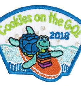 LITTLE BROWNIE BAKER 2018 Cookies On the Go Turtle Patch