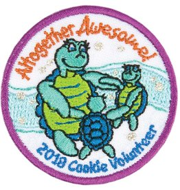 LITTLE BROWNIE BAKER 2018 Cookie Volunteer Patch - Altogether Awesome