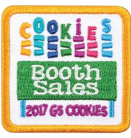 LITTLE BROWNIE BAKER 2017 Cookies Booth Sales Patch