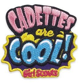 GIRL SCOUTS OF THE USA Cadettes Are Cool! Patch