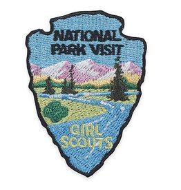 GIRL SCOUTS OF THE USA National Park Visit Patch