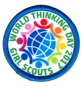 GIRL SCOUTS OF THE USA 2017 World Thinking Day Patch