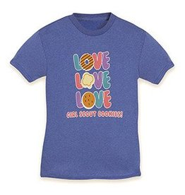 GIRL SCOUTS OF THE USA LOVE Girl Scout Cookies T-Shirt