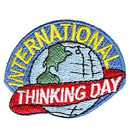 Advantage Emblem & Screen Prnt International Thinking Day Globe Fun Patch