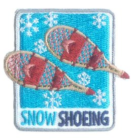 Advantage Emblem & Screen Prnt Snowshoeing Fun Patch