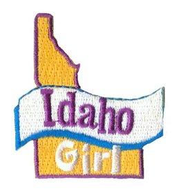 Advantage Emblem & Screen Prnt Idaho Girl Fun Patch