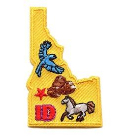 Advantage Emblem & Screen Prnt State of Idaho Fun Patch