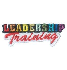 Advantage Emblem & Screen Prnt Leadership Training Fun Patch