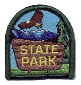 Advantage Emblem & Screen Prnt State Park Fun Patch