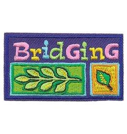 Advantage Emblem & Screen Prnt Bridging Leaves Fun Patch