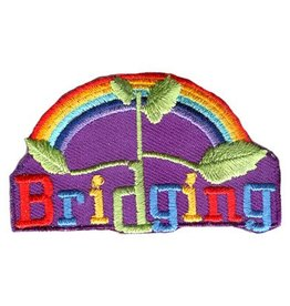 Advantage Emblem & Screen Prnt Bridging with Rainbow Fun Patch