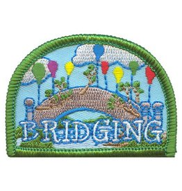Advantage Emblem & Screen Prnt Bridging with Balloons Fun Patch