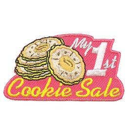 Advantage Emblem & Screen Prnt My First Cookie Sale Fun Patch