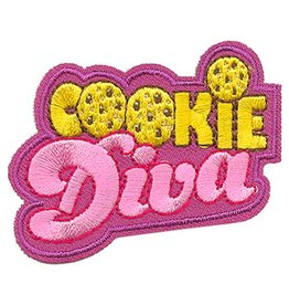 Advantage Emblem & Screen Prnt Cookie Diva Fun Patch