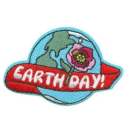 Advantage Emblem & Screen Prnt Earth Day with Flower Fun Patch