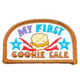 Advantage Emblem & Screen Prnt My First Cookie Sale Stars Fun Patch