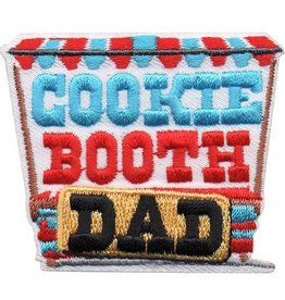 Advantage Emblem & Screen Prnt Cookie Booth Dad Fun Patch