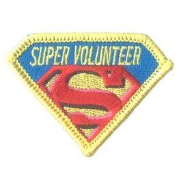 Advantage Emblem & Screen Prnt Super Volunteer Fun Patch