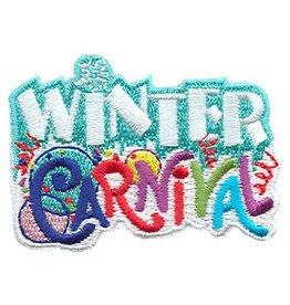 Advantage Emblem & Screen Prnt Winter Carnival Fun Patch
