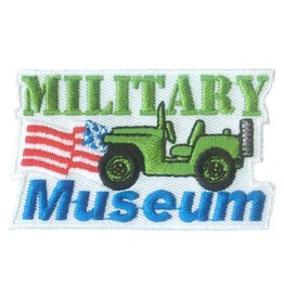 Advantage Emblem & Screen Prnt Military Museum Fun Patch