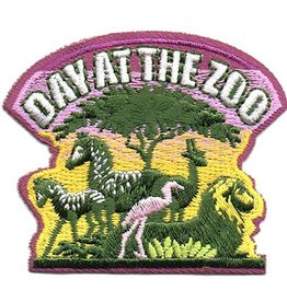 Advantage Emblem & Screen Prnt Day at the Zoo Fun Patch