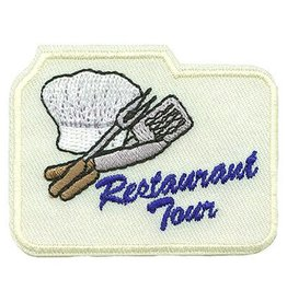 Advantage Emblem & Screen Prnt Restaurant Tour Fun Patch
