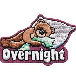 Advantage Emblem & Screen Prnt Overnight Bear Fun Patch