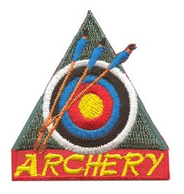 Advantage Emblem & Screen Prnt Archery Fun Patch