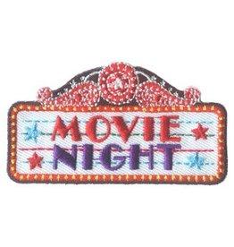 Advantage Emblem & Screen Prnt Movie Night Fun Patch