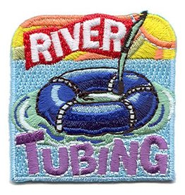 Advantage Emblem & Screen Prnt River Tubing Fun Patch