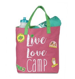 GIRL SCOUTS OF THE USA Live Love Camp Tote Bag