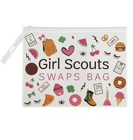 GIRL SCOUTS OF THE USA GS Swaps Zipper Bag