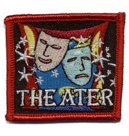Advantage Emblem & Screen Prnt Theater Comedy Tragedy Masks Fun Patch