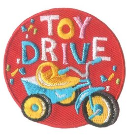 Advantage Emblem & Screen Prnt Toy Drive Tricycle Fun Patch