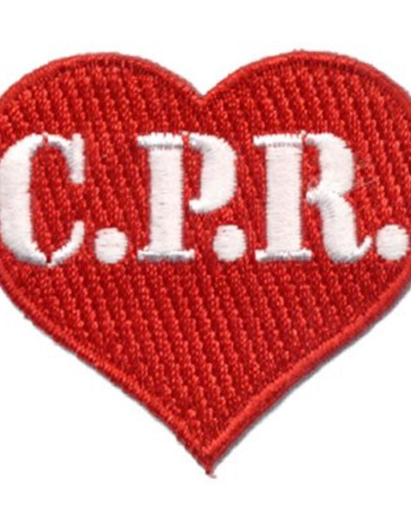 Advantage Emblem & Screen Prnt CPR Heart Fun Patch