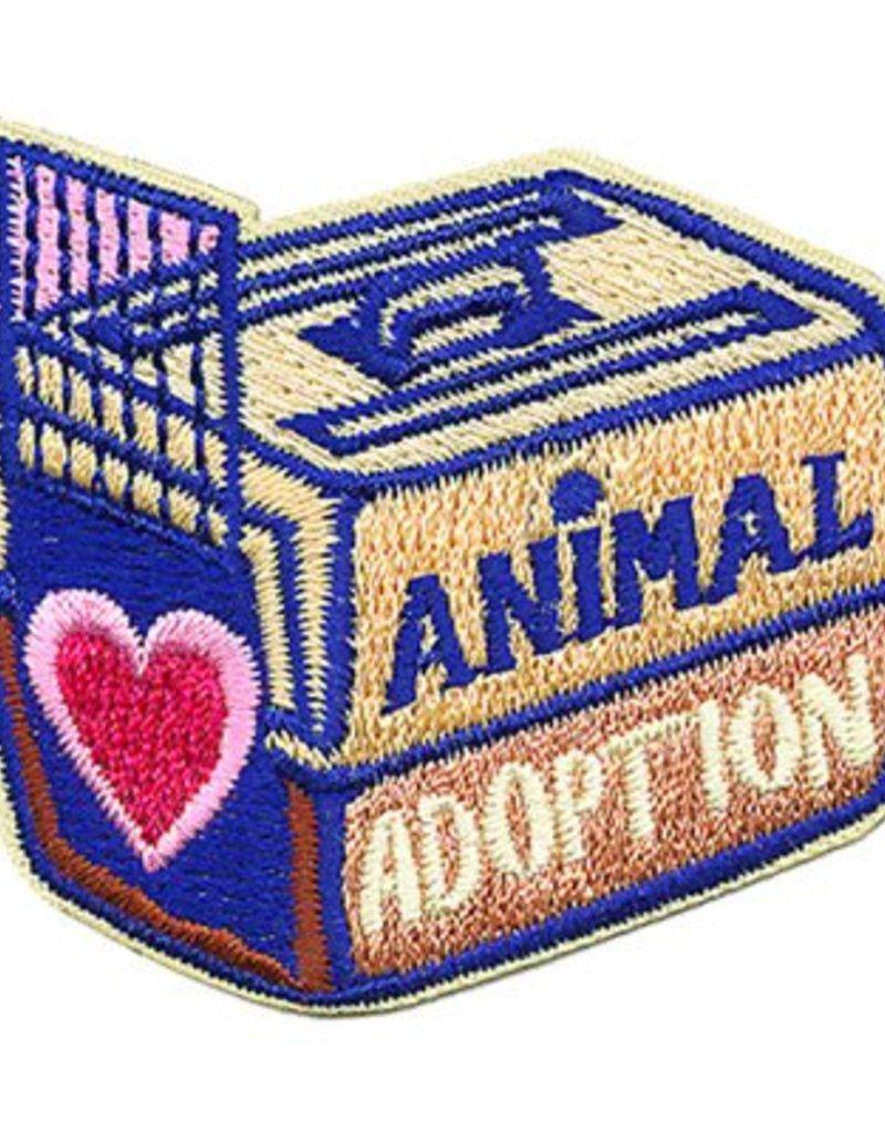 Advantage Emblem & Screen Prnt Animal Adoption Fun Patch