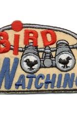 Advantage Emblem & Screen Prnt Bird Watching Binoculars Fun Patch
