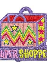Advantage Emblem & Screen Prnt Super Shopper Fun Patch
