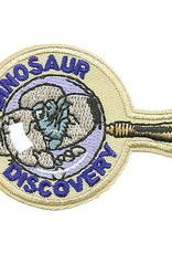 Advantage Emblem & Screen Prnt Dinosaur Discovery Fun Patch