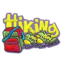 Advantage Emblem & Screen Prnt Hiking Fun Patch