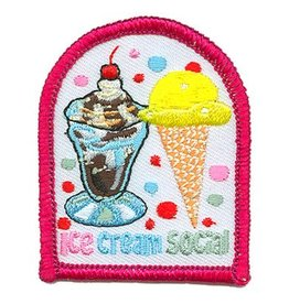 Advantage Emblem & Screen Prnt Ice Cream Social Fun Patch