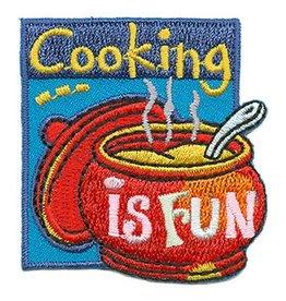 Advantage Emblem & Screen Prnt Cooking Is Fun Fun Patch