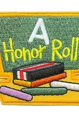 Advantage Emblem & Screen Prnt Honor Roll Chalk Board Fun Patch