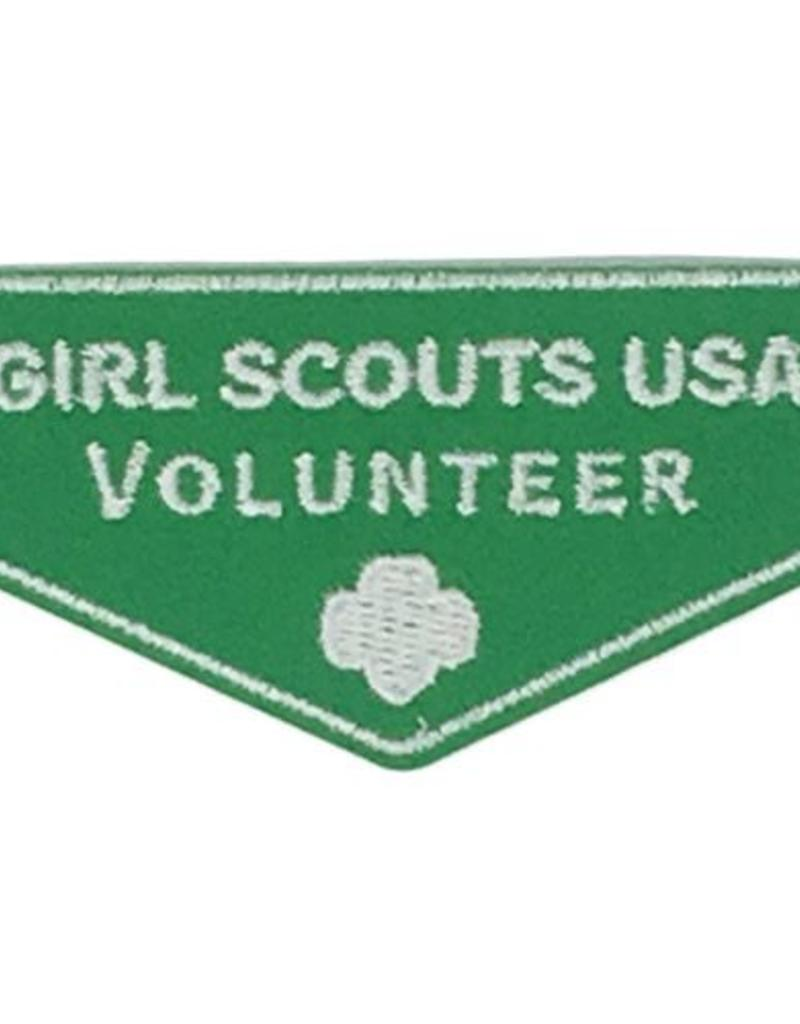 GIRL SCOUTS OF THE USA Volunteer Insignia Patch