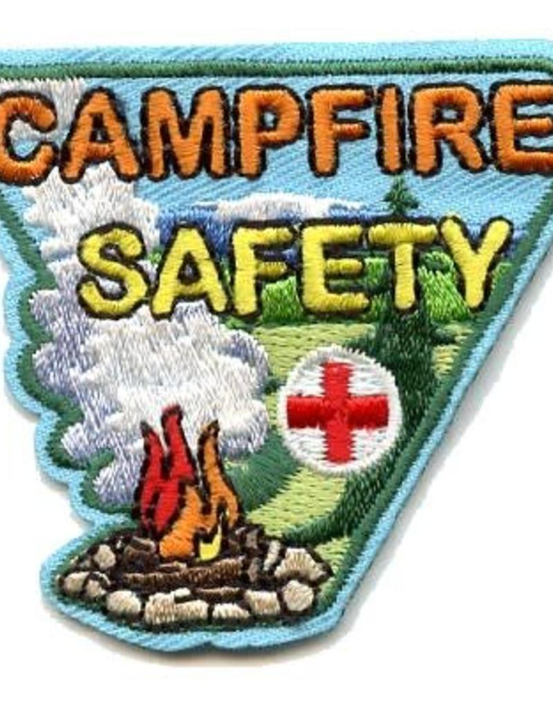 Advantage Emblem & Screen Prnt Campfire Safety Fun Patch