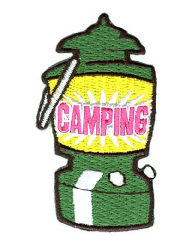 Advantage Emblem & Screen Prnt Camping Lantern Fun Patch